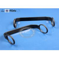 Black Molding Silicone Rubber Parts EPDM Rubber Handle Necklace Grommet Type Manufactures