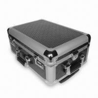 China Luggage Case with Black Nonwoven Cloth Interior Lining, Measures 480 x 330 x 210mm on sale