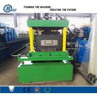 China Green / Blue Cr 12 Purlin Roll Forming Machine ,  Sheet Metal Shaping Machines on sale
