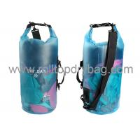 Quality Silkscreen / Digital Printing Transparent Dry Bag For Swimming Water Sports for sale