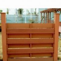 WPC Garden Fence, 100% Recyclable, Saves Forest Resources Manufactures