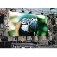 Hanging Installation Outdoor LED Advertising Screens P4.81 With 3500 Brightness