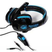 Cheap Wired Stereo Over Ear Headsets Foldable Volume Control With 3.5 mm Jack for sale