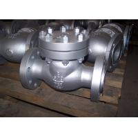 2 Inch 600lbs WCB Manual Stainless Steel Valves / Check Valve With Flange Connection Manufactures