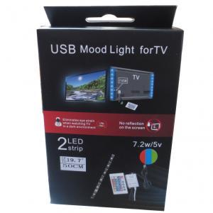 USB rgb mood light kit for TV usb tv mood light Manufactures