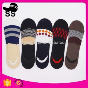 2017 yiwu knitted  69% Cotton 25 % Polyester  6%Spandex 24cm 27g Custom design Anti slip branded Winter boat happy socks Manufactures