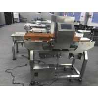 China Touch Screen Conveyor Belt Stainless Steel Metal Detector For Food Industry on sale