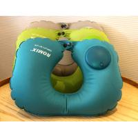 China Easy Press Operate to Inflate Comfortable Inflatable Neck Travel Pillow,Customized Gifts for Promotional on sale