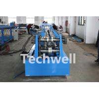 CZ Shaped Purlin Roll Forming Machine With 17 Forming Station TW-CZ300 Manufactures