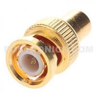 BNC-RM11 Gold Plated BNC Male to RCA (Phono) Female Adapter Manufactures