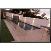 Tempered Swimming Pool Glass Fencing , Glass Deck Fencing Blue Manufactures
