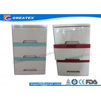 Medical Equipment ABS Plastic Hospital Bedside Cabinet / Locker / Table with wheels Manufactures