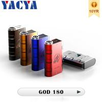 Buy cheap Variable Wattage180watt 510 Electronic Cigarette smy God 180 Mod Built-in Air from wholesalers