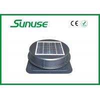Durable 15w Solar Powered Ventilation Fan For Workshops / Warehouse Manufactures
