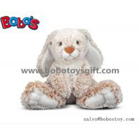 25cm Baby Plush Sitting Rabbit Animal Toy with Long Ears and Big Feet Manufactures