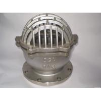 Cheap ANSI 150 RF Stainless Steel Foot Valve SS 316 Body And Bonnet Spring And Mesh for sale