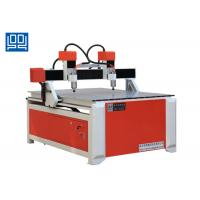 Double Spindle Head Advertising CNC Router Equipment With Square Guide Rail Manufactures