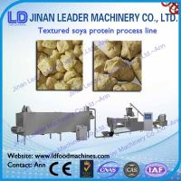 tvp tsp soya bean protein food machine soy nuggets extruder Manufactures