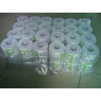 White 36 Rolls Packing Toilet Tissue Paper Roll ,  Recycle Tissue Manufactures