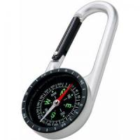 Promotional Aluminium carabiner with compass Manufactures