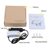 Car Micro Air Purifier Limits Ozone Output  System White Color Manufactures