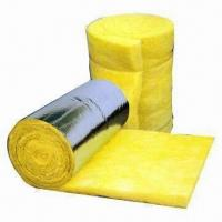 China Fiber Glass Wool/Acoustic Insulation with Density Ranging from 10 to 72kg/m3 and Easy Installation on sale