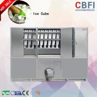 Cheap R22 / R404a Gas Large Ice Cube Maker / Ice Making Machines Commercial for sale