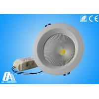 2800-6500K Aluminum COB LED Downlight With 4 Inch 15w Cool Warm White Manufactures