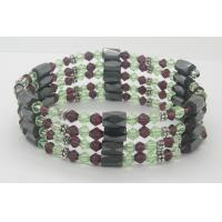 Buy cheap fashion elegant Custom size color and logo ore magnetic bracelet health for lady from wholesalers