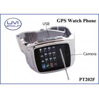 PT202F Touch Screen Real Time Wireless GPS Wrist Watch Tracker with Video, Java, WAP, Photo Editor Manufactures
