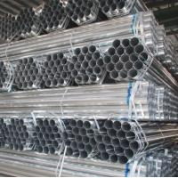 50mm pre galvanized steel pipe gi pipe made in China market exporter mill factory Manufactures