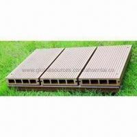 Buy cheap WPC Decking Boards, Weather-resistant, Low Maintenance and Easy to Install from wholesalers