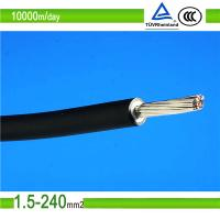 1.5mm2/10mm2 blue color single core pv solar photovoltaic cable Manufactures