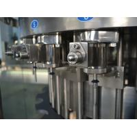 Three in One Liquid Filling Machine , Carbonated Drink Filling Plant for Gas beverage 110V Manufactures