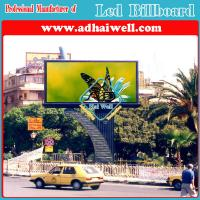 China Custom Design Outdoor Full Color Video LED Screens Billboard Steel Structure on sale