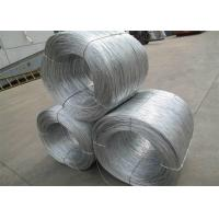 Soft Hot Dipped Galvanized Wire , Mild Steel Binding Wire For Construction Manufactures