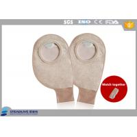 Comfortable Drainable Two Piece Ostomy Bag Breathing non - woven 70mm Max Cut Manufactures