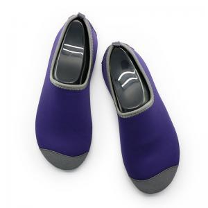 Heel Reinforced Winter Footwear For Ladies Durable Purple Lined Pattern Manufactures