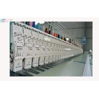 Multifunctional Lace High Speed Embroidery Machine , 3 Needles 66 Heads With All Servo Motors Manufactures