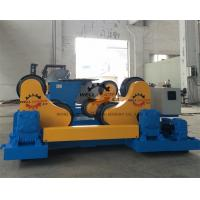 Pressure Vessel Self Aligned Welding Rotator With Double Driver 70 Ton Manufactures