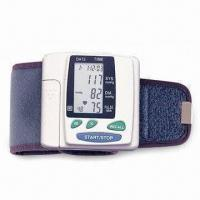 Durable Wrist Blood Pressure Monitor with Accuracy ±5% Pulse and 48 Memory Sets Manufactures