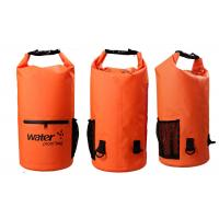 20l Heavy Duty Dry Storage Bags 0.5mm Thickness With Mesh / Front Zipper Pocket Manufactures