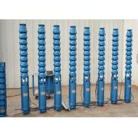 China 72m 11kw 15hp Submersible Clean Water Pump Cast Iron Material For Irrigation on sale