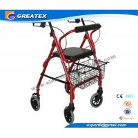Mobility Medicare lightweight folding walker with wheels , collapsible walkers Manufactures