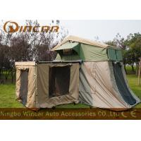 Waterproof Car Roof Top Tent And Awning , Heavy Duty Canvas Tents For Camping Manufactures