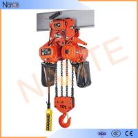 Cheap High Efficient 25 Ton / 40 Ton Electric Chain Hoist With Motorized Trolley for sale