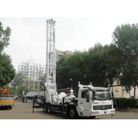 BZC350ACZ Truck Mounted Water Well Drilling Rig Depth 300M Drilling Hole Diameter 500MM