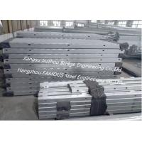 Temporary Modular Bridge Construction Green Painting / HDG Surface High Performance Manufactures