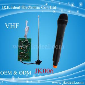 Cheap JK006 VHF wireless microphone module in wireles microphone system for sale