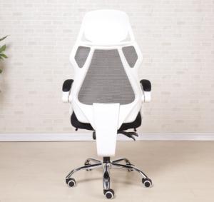 Silla Oficina Foot Rest 360 Swivel Ergonomic Mesh Office Chair Manufactures